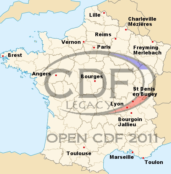 CDF Legacy, Angers Open2011b